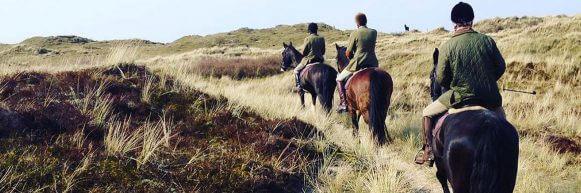 Paardrijden beginnerstocht op Terschelling