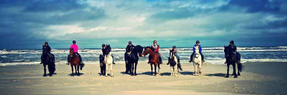 Weekend paardrijden Terschelling